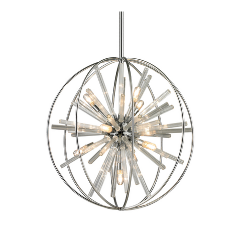 Twilight 10 Light Chandelier in Polished Chrome by Elk Lighting 11562/10