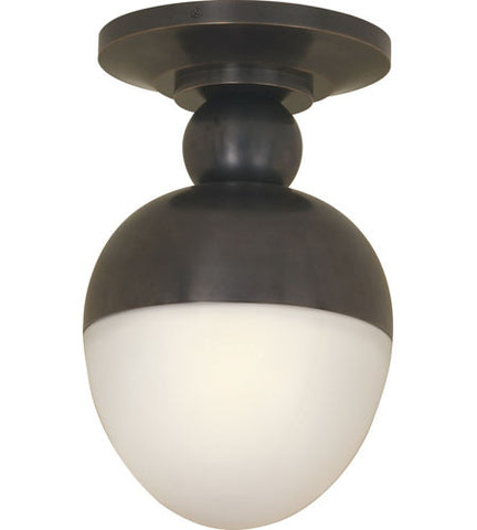 Visual Comfort Clark Flush Mount in Bronze TOB4006BZ-WG