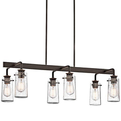 Braelyn Linear Chandelier in Olde Bronze by Kichler 43059OZ