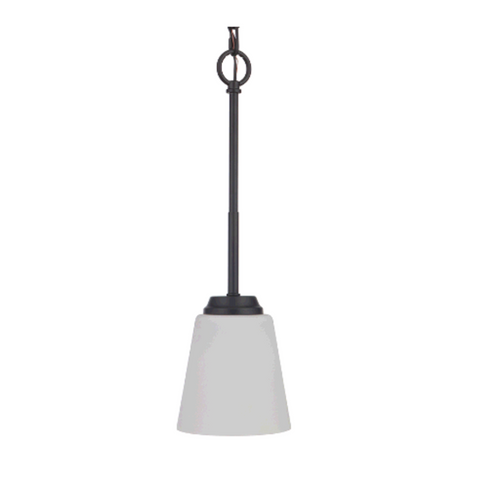 Sutton Mini Pendant, Pendant, Matte Black