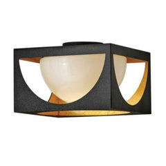 Vega Flush Mount, Ceiling Mount, Anvil Black
