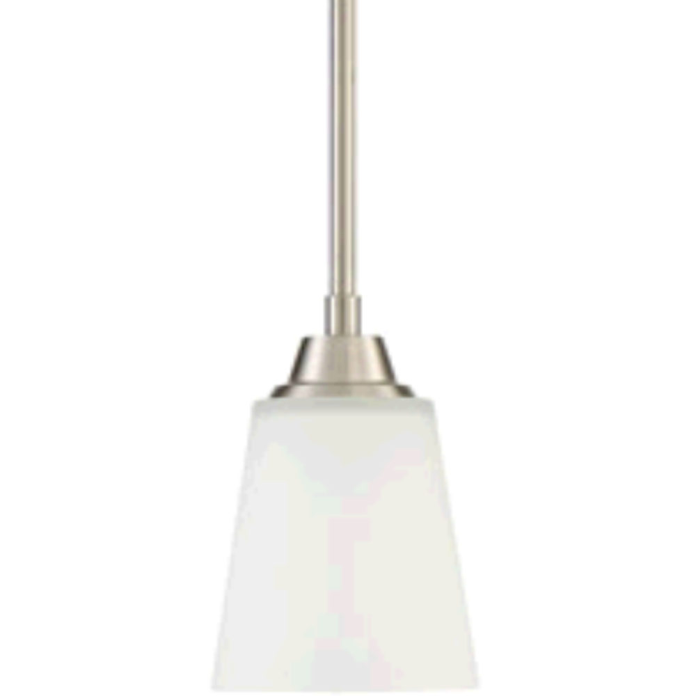 Venice Mini Pendant, Pendant, Brushed Nickel