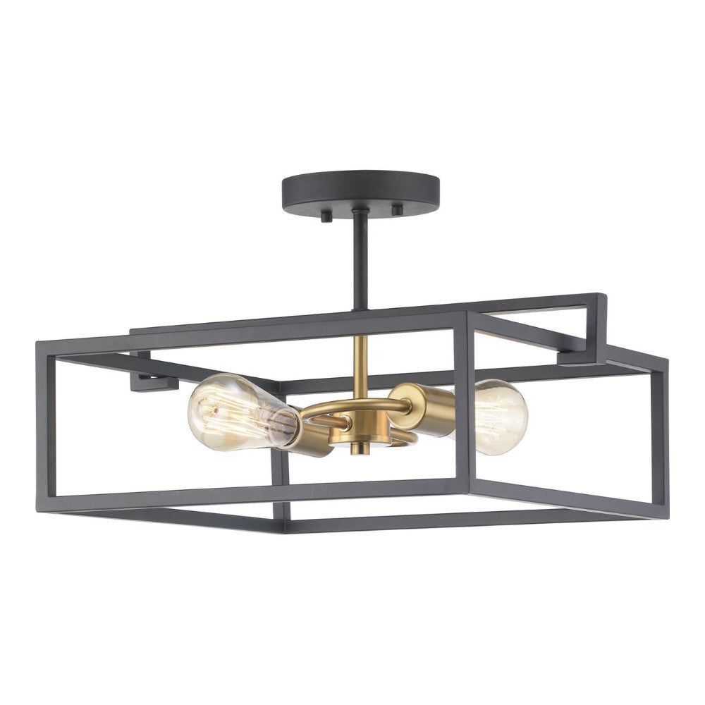 Draper 2-Light Semi-Flush