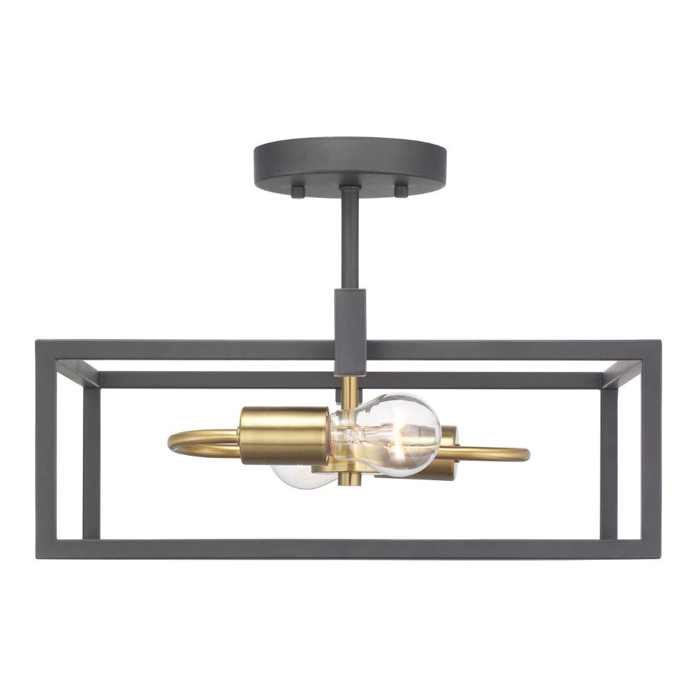 Blakely 2-Light Semi-Flush