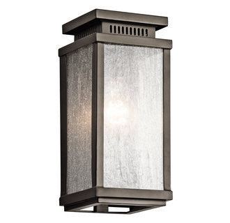 Manningham Outdoor Wall Sconce in Bronze, by Kichler, 49384