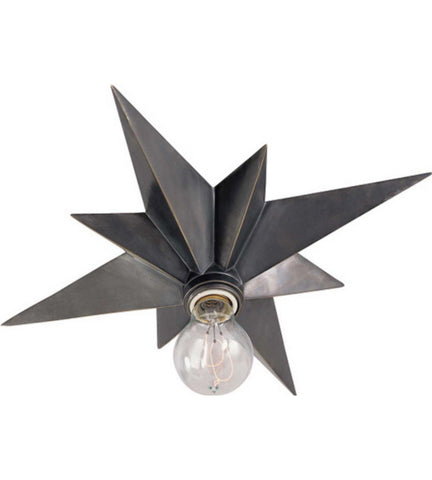 Visual Comfort Star Flush Mount in Bronze SC4000BZ