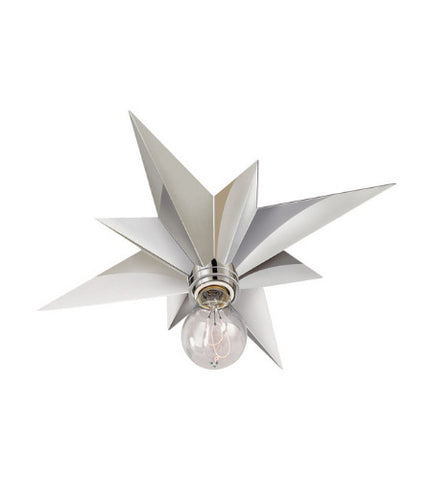 Visual Comfort Star Flush Mount in Polished Nickel SC4000PN
