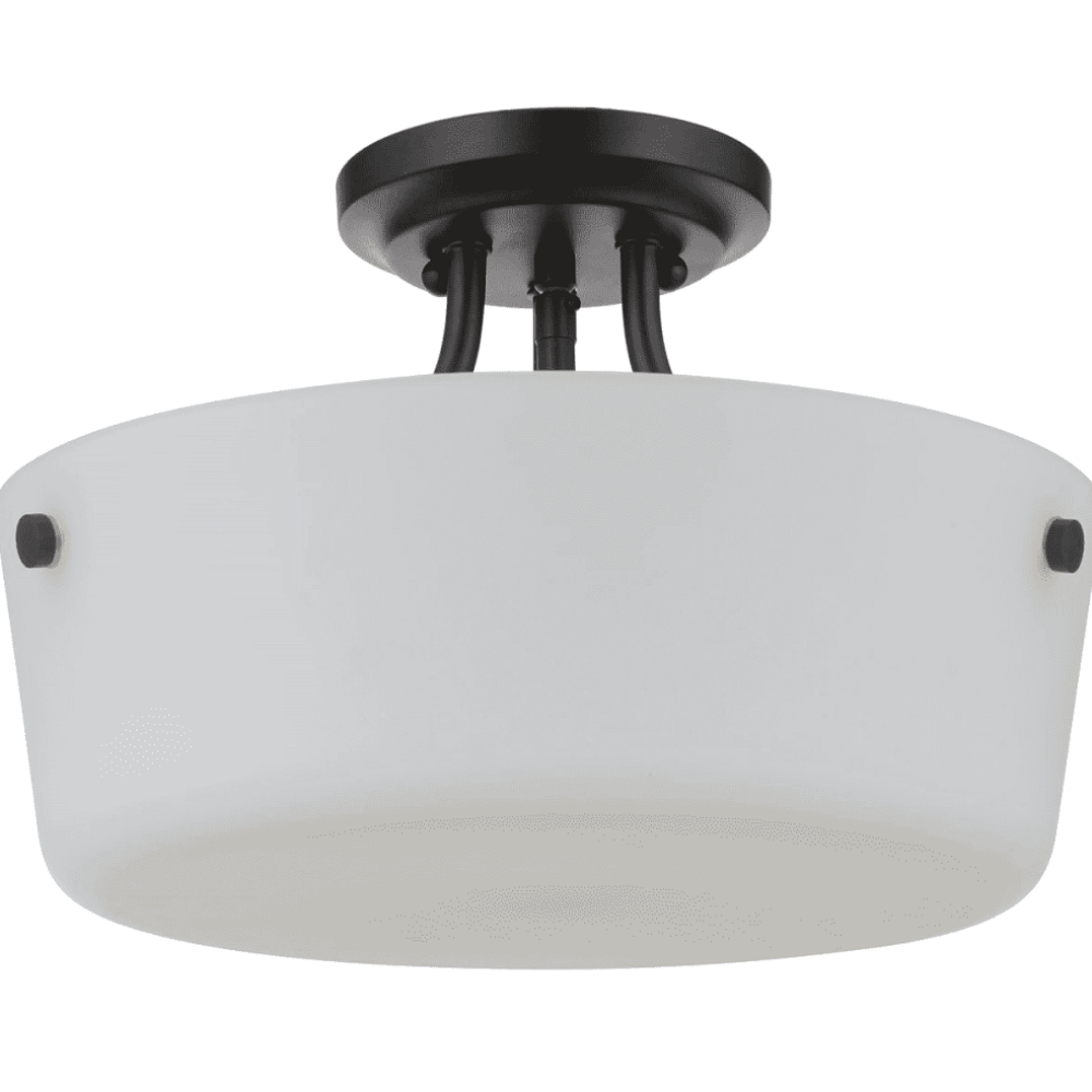 Sutton Semi-Flush Mount, Mount, Blacksmith