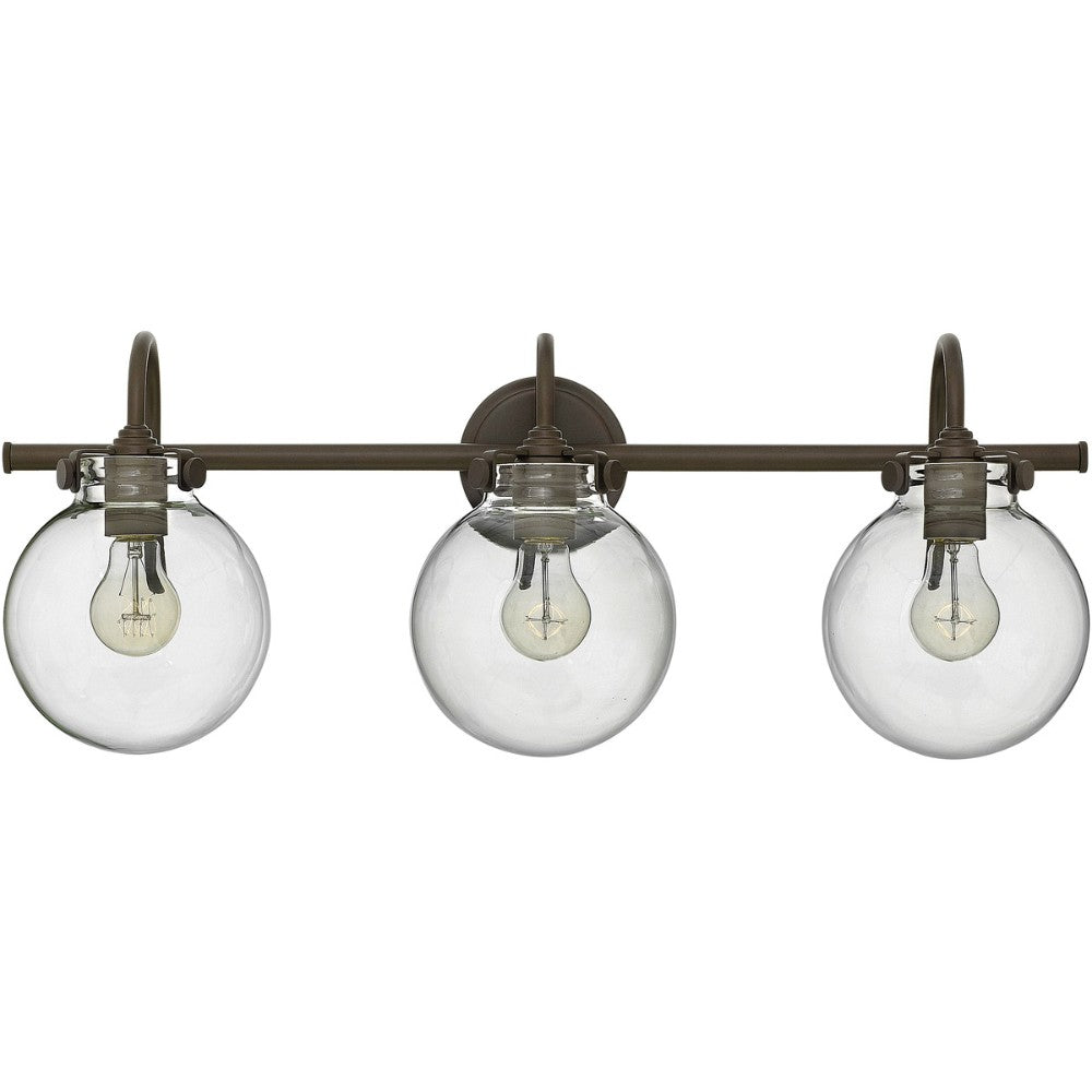 Congress Bath Light | Globe Shade