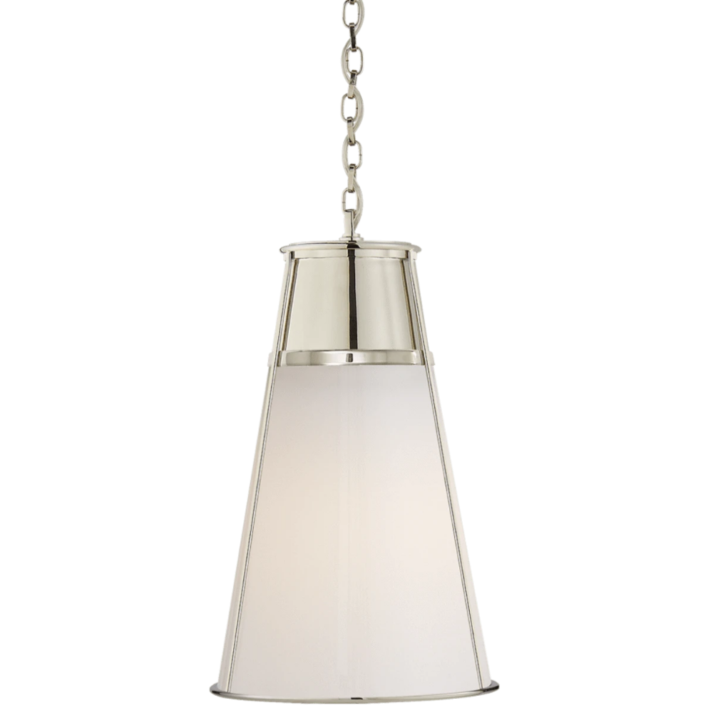 Blaese Pendant in Polished Nickel