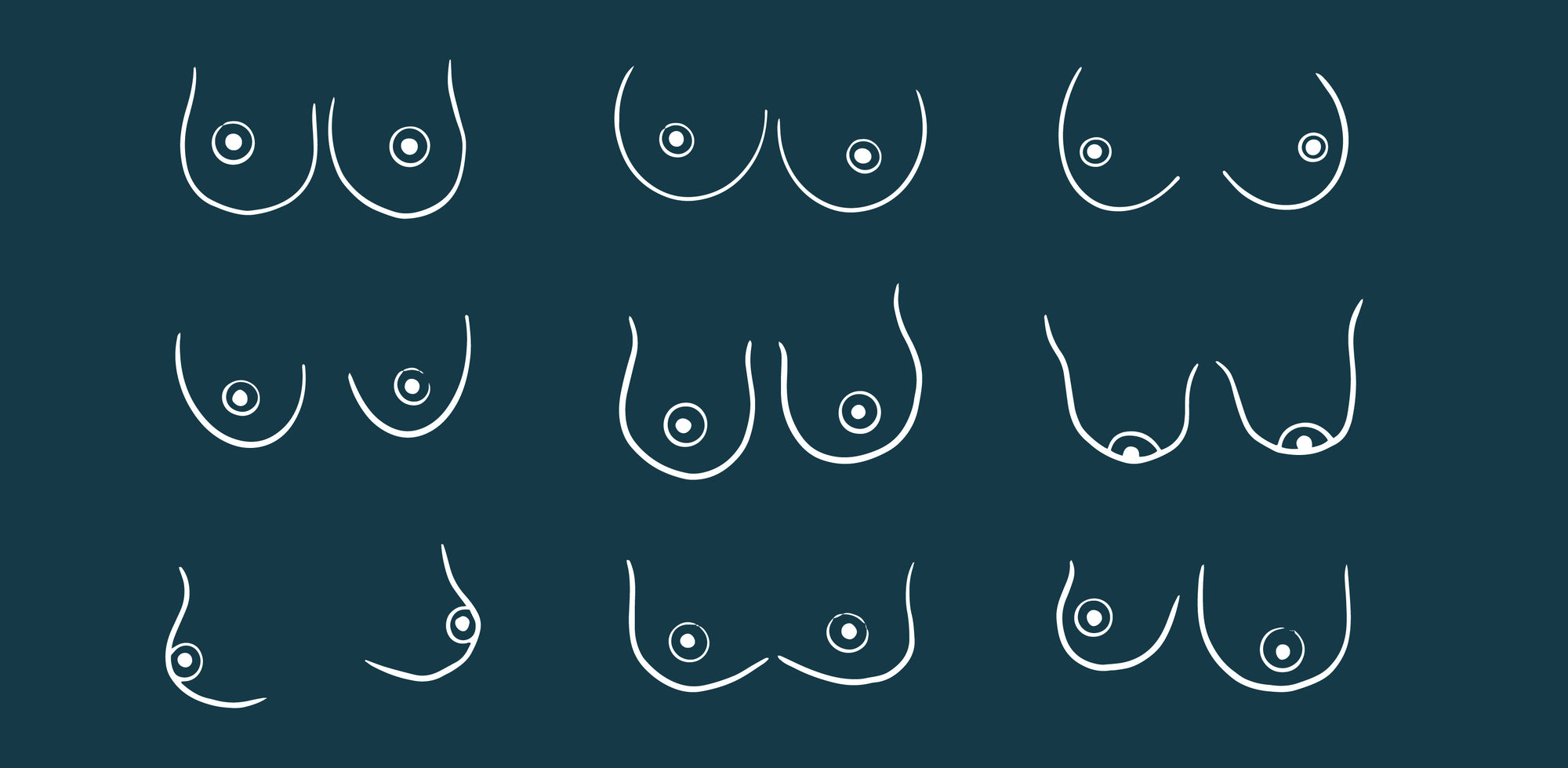 9 Boob Types You Might Have