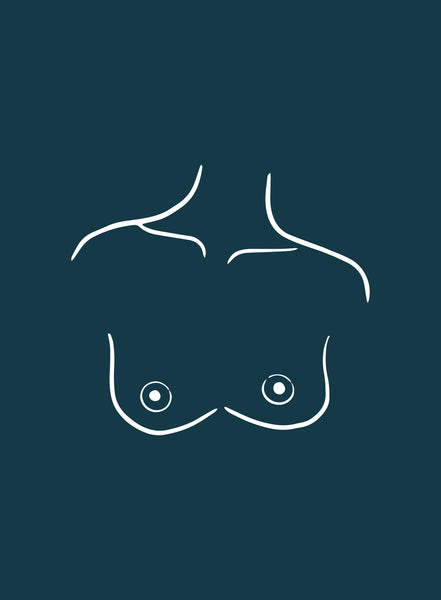 illustration of athletic type boobs