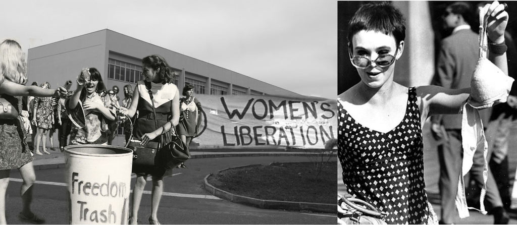 Women Liberation Freedom Trash Can 1968