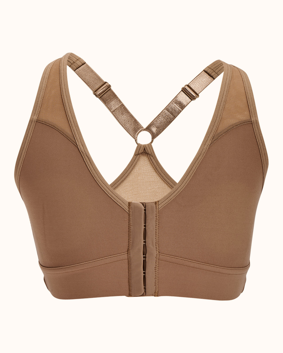 Bianca Front Closure Flat Sports Bra