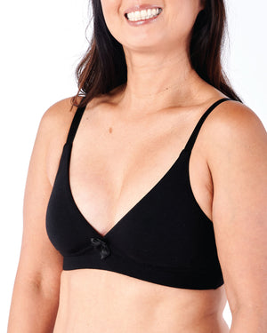 Molly, A Pocketed Plunge Bra