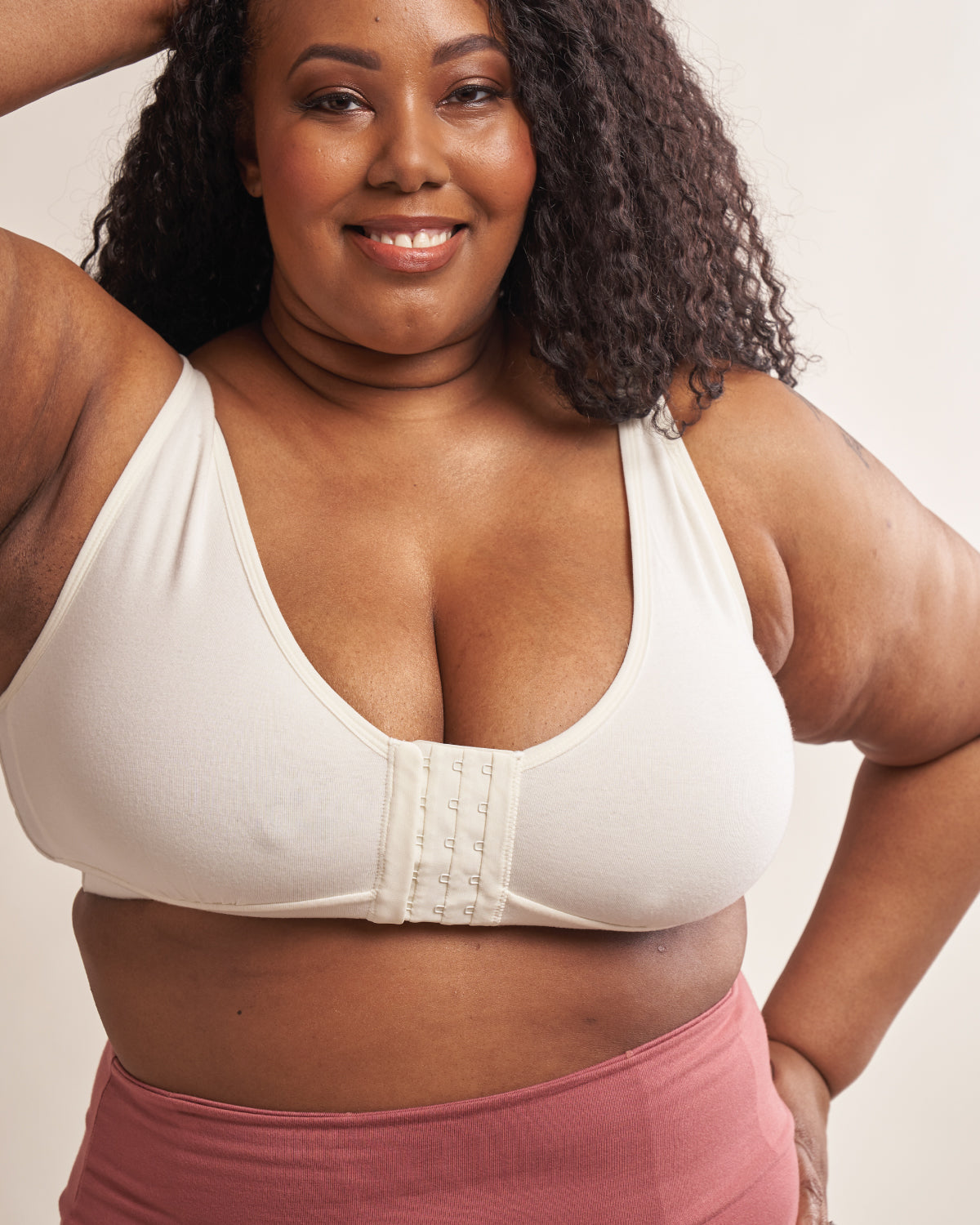 Rora Recovery Front Closure Bra