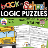 Back to School Logic Puzzles