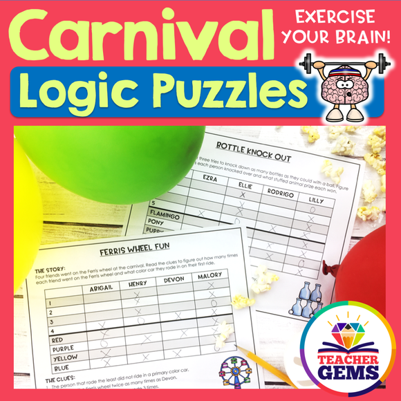 Carnival Logic Puzzles