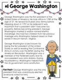 United States Presidents Fact Cards