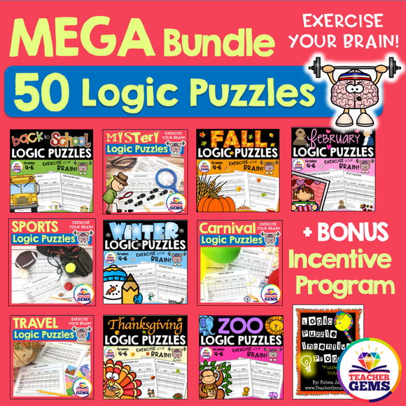 Logic Puzzles MEGA Bundle