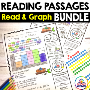 Reading Passages - Read and Graph Bundle