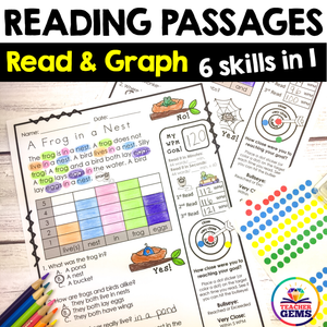 Reading Passages - Read and Graph Set 1