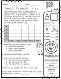 Reading Passages - Read and Graph Set 2