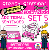 Greasy Grammar Writing Mechanics Set 5 Sentences