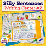 Silly Sentences Writing Center 2