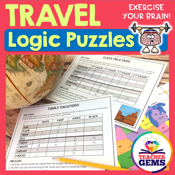 Travel Logic Puzzles