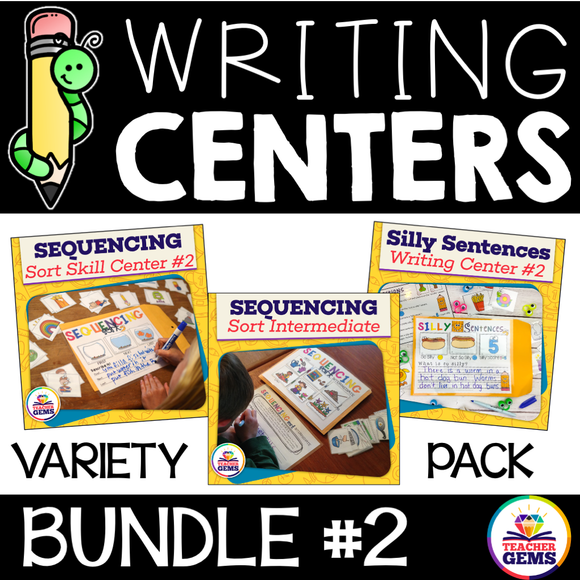 Writing Center Bundle #2
