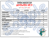 Winter Theme Logic Puzzles