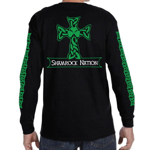 """The Classic"" Celtic Cross Long Sleeve T-Shirt"
