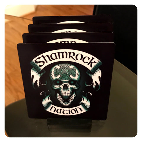 Shamrock Nation Coaster Set