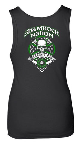 Skulls Fitted Tank - Laconia (Women's)