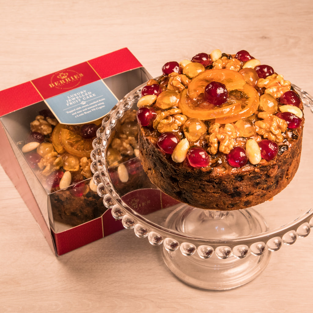 Luxury Jewelled Fruit Cake