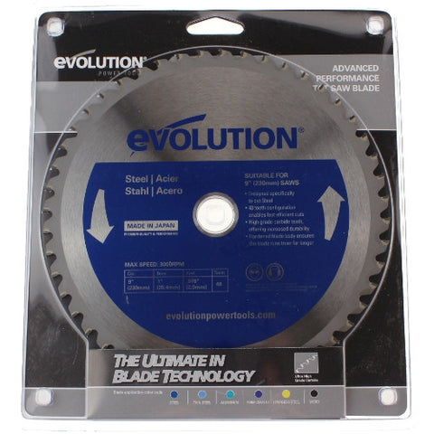 Evolution Circular Saw Blade - 230mm - Metal