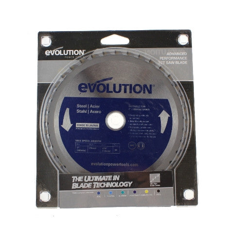 Evolution Circular Saw Blade - 180mm - Metal