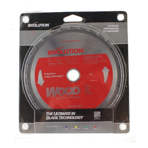 Evolution Circular Saw Blade - 180mm - Wood