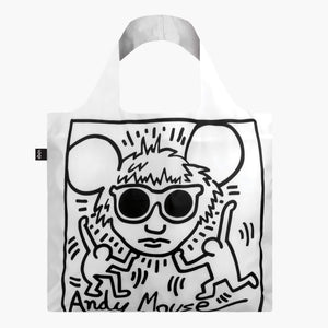 Tote Bag - KEITH HARING Andy Mouse