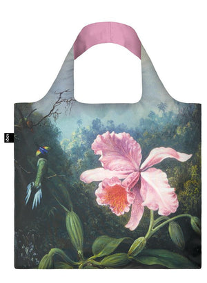 Tote Bag - Martin Johnson Heade Still Life With Orchid