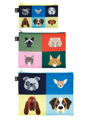 ZIP POCKETS - STEPHEN CHEETHAM Dogs & Cats