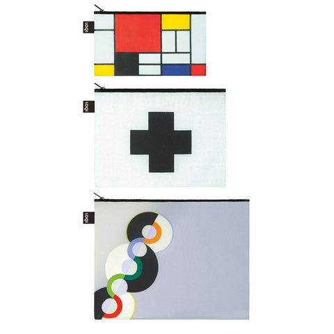 Zip Pockets - Mondrian