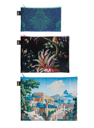ZIP POCKETS - MUSEUM Decorative Arts 1 Japanese Decor Arabesque Landscape