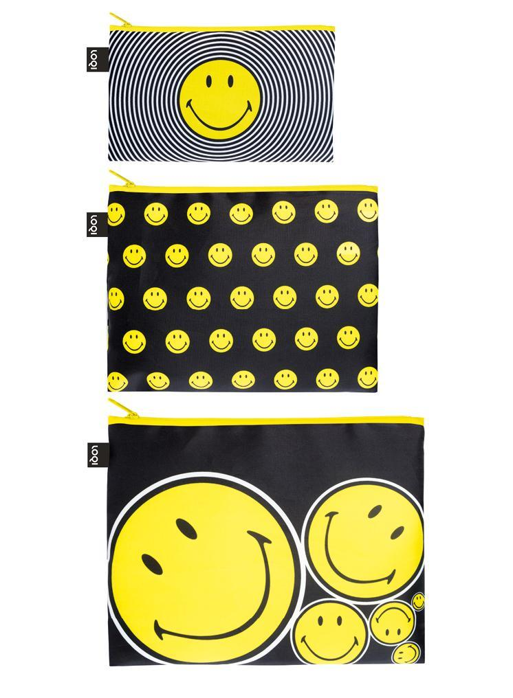 ZIP POCKETS - SMILEY Spiral, Dots, Spots