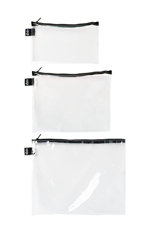 Zip Pockets - Transparent