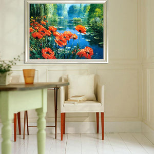 Ocean Beautiful Scenery - Full Round Diamond - 40x30cm