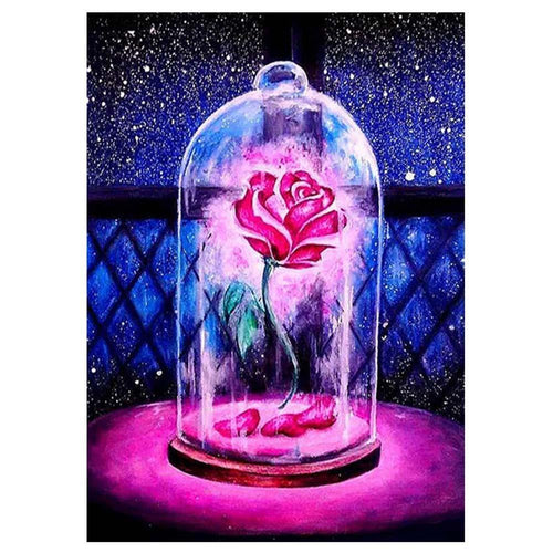 Red Rose 5D DIY  Diamond Painting