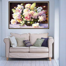Load image into Gallery viewer, Warm Flowers - Full Round Diamond - 40x30cm