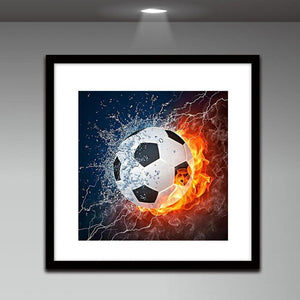 Football 5D DIY Full Drill Round Diamond Painting